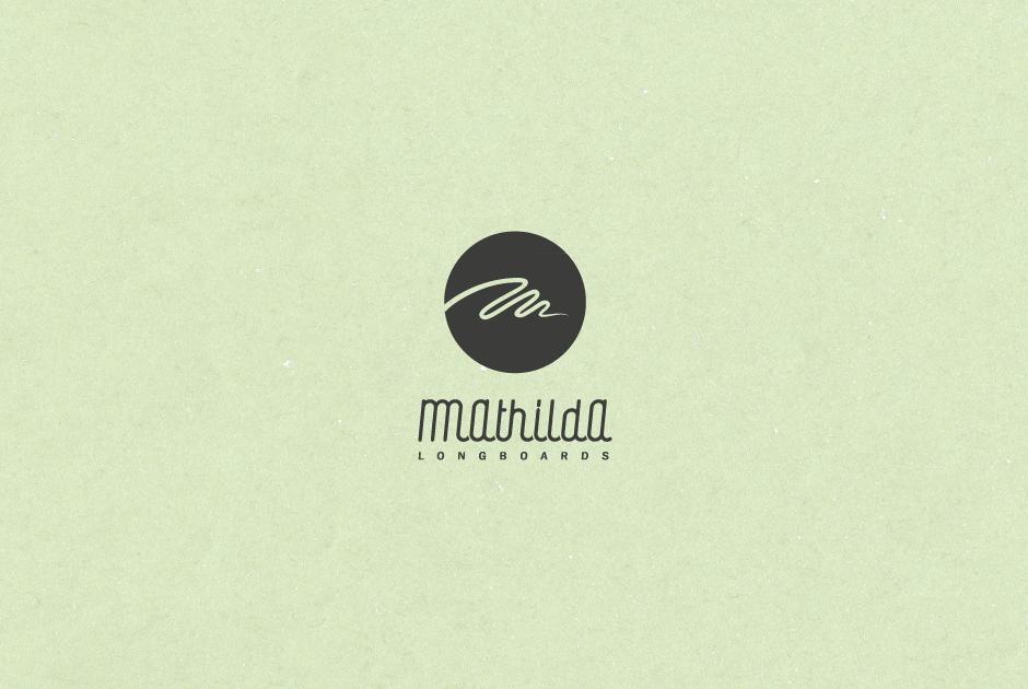 Mathilda Longboards Logo, Paul Raabe