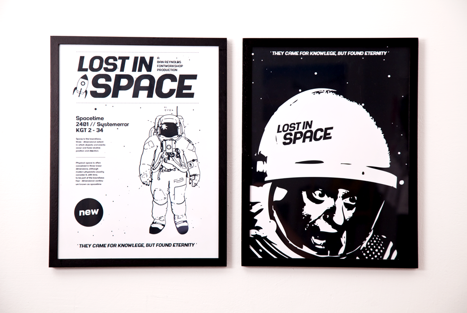 Type, Font, Spacefont, Paul Raabe, Dan Reynolds, 2011